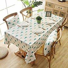 Asinw tischdecke baumwolle Tabelle Tücher