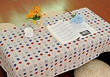 Asinw tischdecke baumwolle Tischdecken-Rechteck
