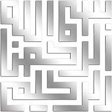 Asir Group LLC 234DSR1126 Dekorativ Spiegel OA0000016044, silber