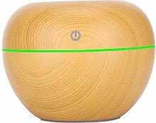 Asixxsix Silikon, Luftbefeuchter aus Holzmaserung,