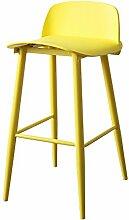 ASL Bar Hocker Bar Stuhl, Restaurant Hocker Kaffeehaus Haushalt Vorderseite Stuhl Stuhl Kaffee Stuhl Esszimmer Stuhl Hoch Hocker Esszimmer Hocker Hochstuhl 60-75cm Neu ( Farbe : #1 , größe : 60 )