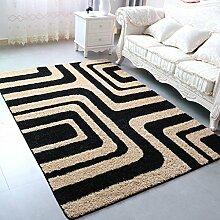 ASL Couchtisch Teppich Wohnzimmer Überflur Bedside Bettvorleger Neu ( Farbe : A , größe : 140*200CM )