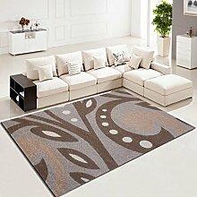 ASL Einfache Pastoral Wohnzimmer Teppich Sofa Couchtisch Nachtrechteckige Schlafzimmer Teppich Neu ( Farbe : A , größe : 120*170CM )