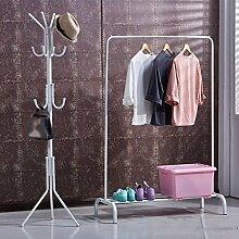 ASL Hanger Landing Schlafzimmer Kleiderbügel Coat Regal Regal Einfache Einfache Vertical Hangers Neu ( Farbe : C )