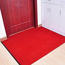 ASL Matratze Tür Hauseingangshalle Wohnzimmer Antirutsch - Fußballen Teppich Neu ( Farbe : B , größe : 90*100cm )