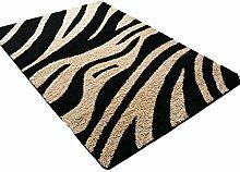 ASL Rutschfeste Wohnzimmer Teppich, Kaffeematten Study Schlafzimmer Nachttischdecke Fußauflage Türmatten Sofa Teppich Dicker Geometrie Übergroße Hall Teppich Neu (Farbe : #1, größe : 100*150CM)