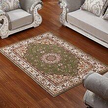 ASL Teppich Wohnzimmer Couchtisch Schlafzimmer Bettvorleger Blending American Garden Home Klassisch-Shop Neu ( Farbe : E , größe : 180*280CM )