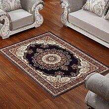 ASL Teppich Wohnzimmer Couchtisch Schlafzimmer Bettvorleger Blending American Garden Home Klassisch-Shop Neu ( Farbe : B , größe : 180*280CM )