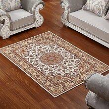 ASL Teppich Wohnzimmer Couchtisch Schlafzimmer Bettvorleger Blending American Garden Home Klassisch-Shop Neu ( Farbe : C , größe : 170*240CM )