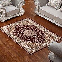 ASL Teppich Wohnzimmer Couchtisch Schlafzimmer Bettvorleger Blending American Garden Home Klassisch-Shop Neu ( Farbe : D , größe : 160*230CM )