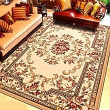 ASL Teppich Wohnzimmer Couchtisch Schlafzimmer Nacht Teppich Decke Fenster Teppich rechteckig Home Study Restaurant Neu ( Farbe : D , größe : 80*150CM )
