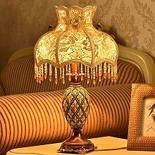 ASL Tischlampe Europäische Schlafzimmer Bedside