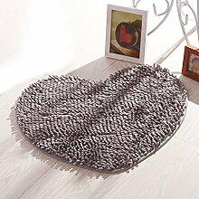 ASL Wohnzimmer rutschfeste Matte Teppich Türmatten Hall Fußauflage Badezimmer Saugfähige Pad Home Teppich Balkon Schlafzimmer Küche Treppen sos ( Farbe : G , größe : 50*60CM )