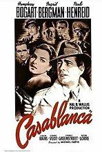 ASLKUYT Casablanca - Film Bogart Bergman