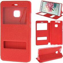 Asnlove Huawei P9 Bookstyle Tasche, Flip Case für
