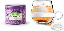 Asobu Tea Ball Mug with Amaretto Tea, 16.75-Ounce,