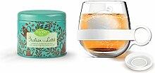 Asobu Tea Ball Mug with Italian Style Latte Tea,