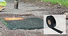 Asphalt-Reparatur-Klebeband, 30mm x 10m, für