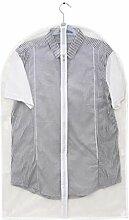Aspire weiß transluzent Kleidersack für Anzug,