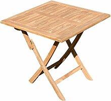 ASS ECHT Teak Klapptisch Holztisch Gartentisch