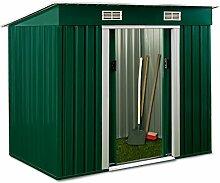 ASS Gartenhaus Geräteschuppen Metallhütte 3,1m²
