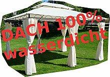 ASS Gartenpavillon Pavillon 3x4 Meter, 12m², Dach