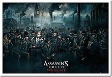 Assassins Creed Syndicate Crowd Poster Kork