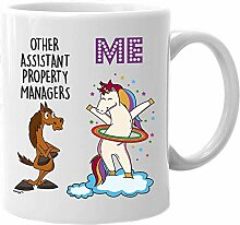 Assistant Property Manager Mug Funny Unicorn Gifts