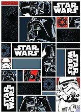 Associated Weavers 0309064 Star Wars I. Spielteppich, 95 x 133 cm, Nylon schwarz