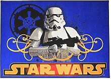 Associated Weavers 0309066 Star Wars S Spielteppich, 95 x 133 cm, nylon, blau