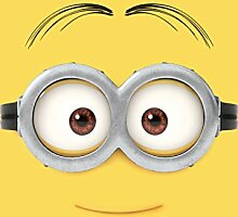 Associated Weavers 0309068 Minions Spielteppich 2, 95 x 133 cm, Nylon gelb