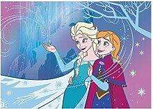 Associated Weavers 0309072 Frozen Spieldecke 05, 95 X 133 Rug, Stoff, blau/lila, 8 x 8.5 x 95 cm
