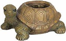 AST Schildkröte als Gartendeko Gartenfigur