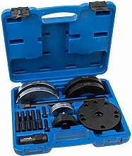 Asta A-197 Radlager Werkzeug Satz 72 mm für VAG 16-tlg. KFZ Werkzeug Audi A1 A2 VW Polo Fox Seat Skoda Radnaben Abzieher Satz Radnarbe Montage Demontage