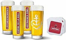 Astra Bier Herzanker Gläser-Special, 3 Limitierte