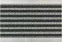 ASTRA Elegant Mat Aluminium Fußmatte, anthrazit,