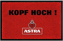 Astra Herzanker Fußmatte Kopf HOCH! für Außen-
