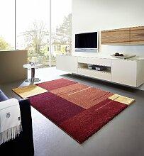 Astra Luxus Teppich Samoa Design Trend Rot in 7