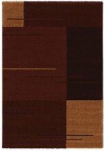 Astra Teppich Samoa Design Rot-Gelb, 140 x 200 cm