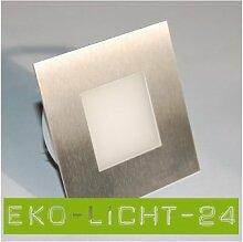ASTRE LED 230V Wandleuchte Treppenbeleuchtung 2W Kaltweiß (8er SET)