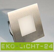 ASTRE LED 230V Wandleuchte Treppenbeleuchtung 2W Warmweiß (2er SET)