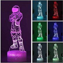 Astronaut 3D-Licht LED Nachtlicht Kinder