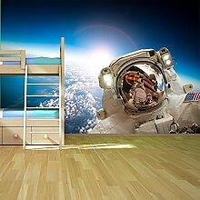 Astronaut Wandbild Planet Erde Raum Foto-Tapete Kinder Schlafzimmer Haus Dekor Erhältlich in 8 Größen Extraklein Digital