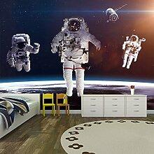 Astronauten im Weltraum Wandbild Planeten Foto-Tapete Kinder Schlafzimmer Haus Dekor Erhältlich in 8 Größen Groß Digital