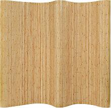 Asupermall - Raumteiler Bambus 250¡Á195 cm Natur
