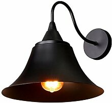Asvert Wandleuchte Vintage Wand Lampe Eisen Sconce