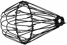 ASVP Shop Lampenschirm aus Messing (Schwarz), zum Anklipsen, Vintage-Lampe, metall, schwarz, Einheitsgröße