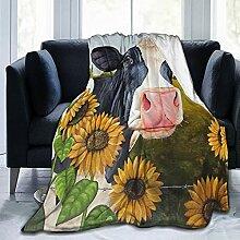 ASYOURWISH Sonnenblumen-Überwurf für Couch, 127