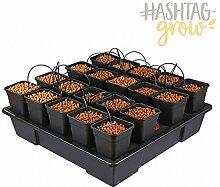 Atami Nutriculture Wilma System für 20 Pflanzen, Hydro Grow Bewässerungssystem