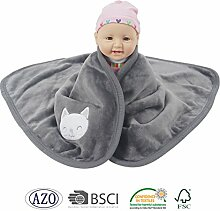Ataya Kuschelige Babydecke Kinder,Bettdecke für